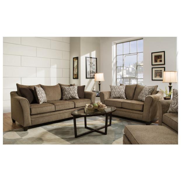 Lane Home Furnishings  6485-02-03 ALBANY TRUFFLE