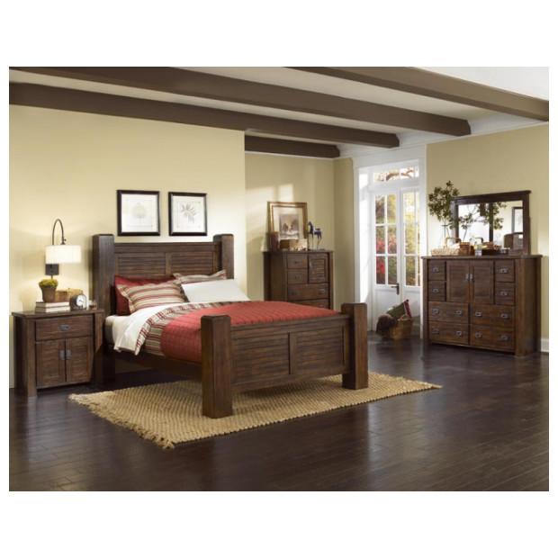Progressive Furniture P611-24/94/95/44/50/97 KG TRESTLEWOOD