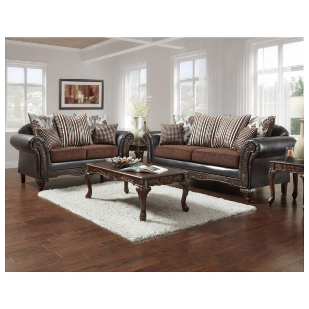 Fitzgerald Furniture CL GRENADA BROWN S/L