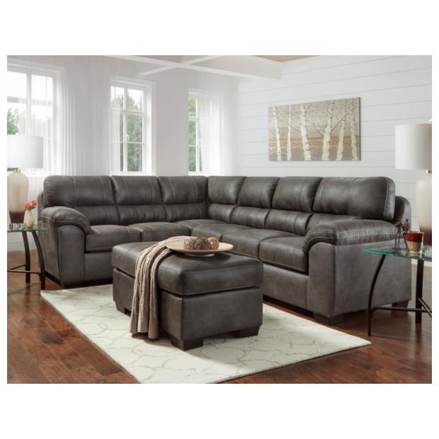 Fitzgerald Furniture CL SEQUOIA 2PC W OTT