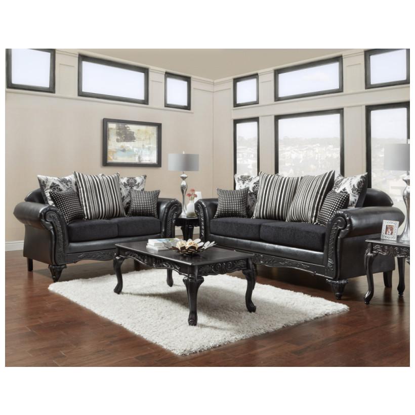 Fitzgerald Furniture CL SINBAD BLACK S/L