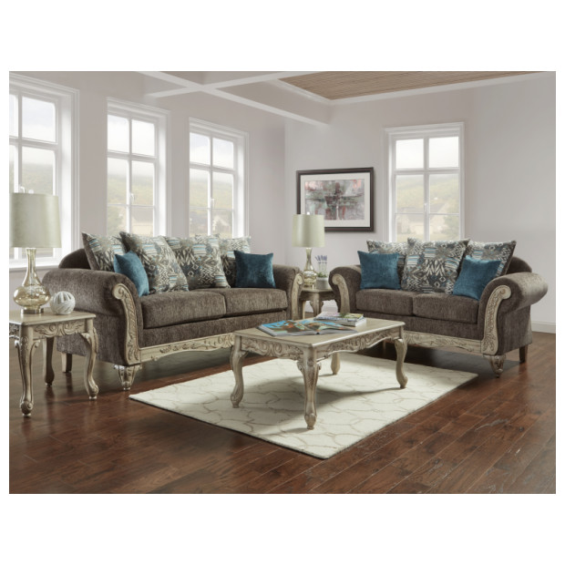 Fitzgerald Furniture CARSON GRAY S/L