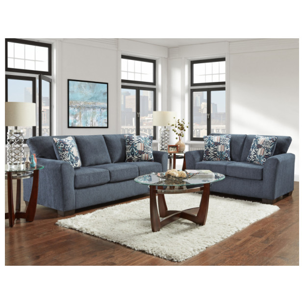 Affordable Furniture A3332/3333 NAVY