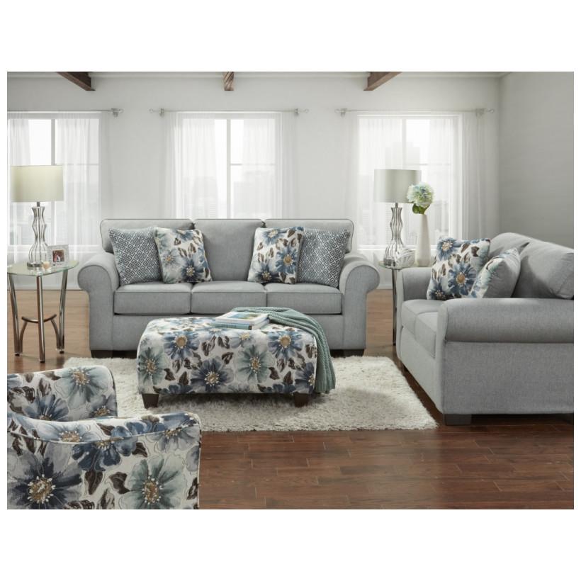 Fitzgerald Furniture CL DRYDEN STEEL S/L