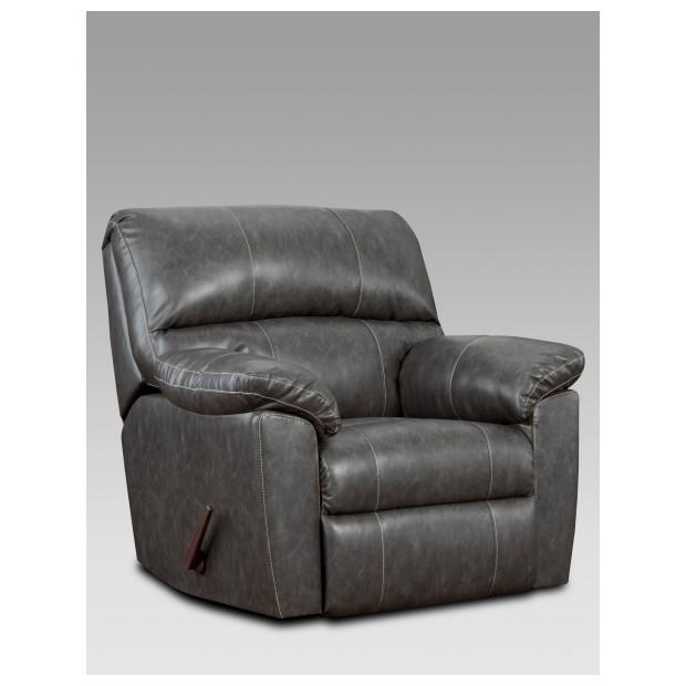 Fitzgerald Furniture CL STALLION CHARCOAL RECLINER