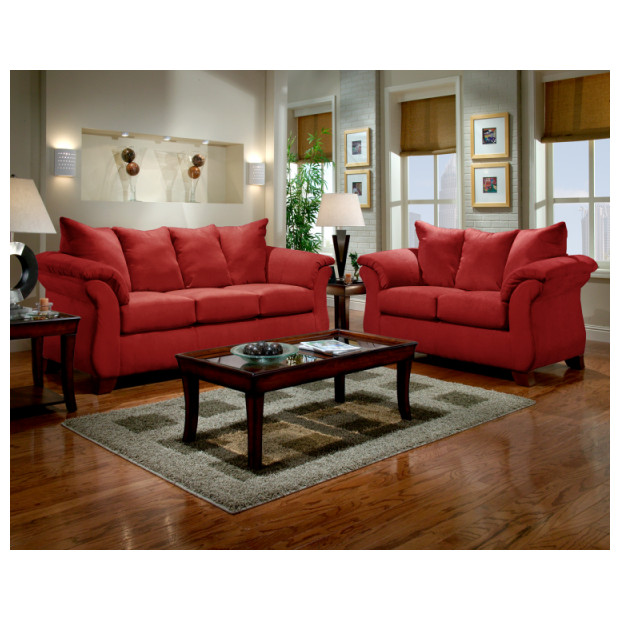 Affordable Furniture A6702/6703 RED