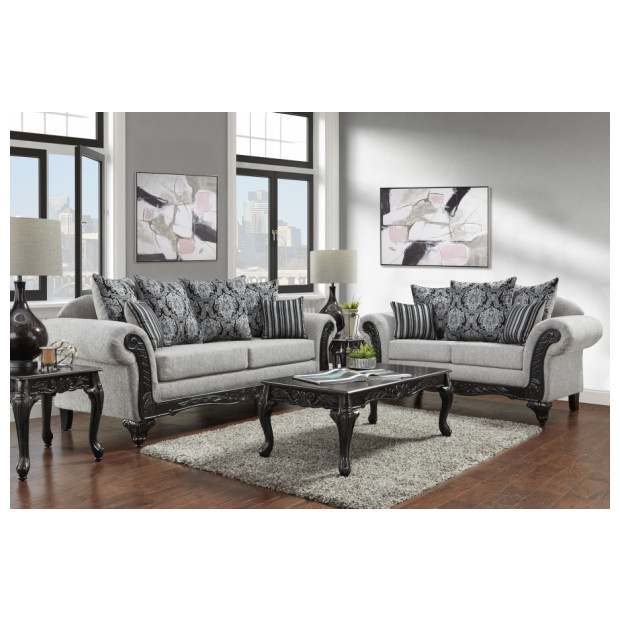 Fitzgerald Furniture HOMERUM GREY S/L