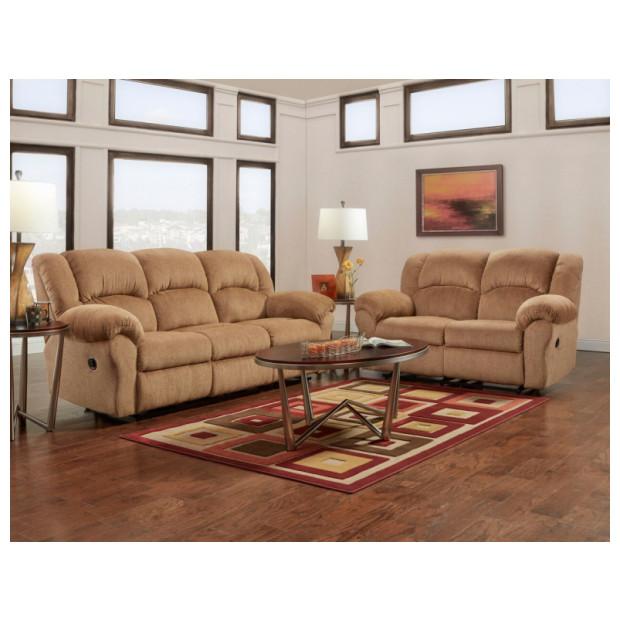 Affordable Furniture A1002/1003 MOCHA