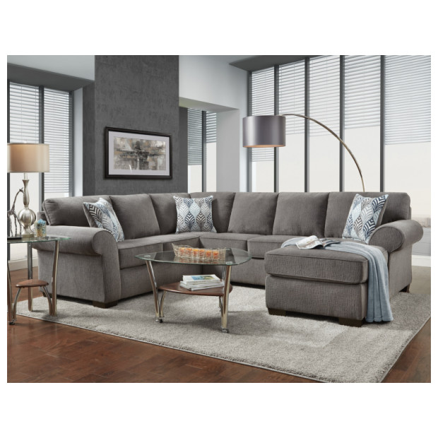 Fitzgerald Furniture CHARISMA SMOKE 2PC