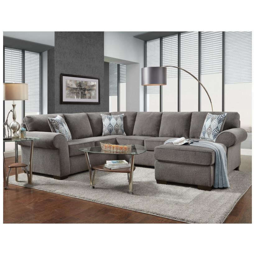 Fitzgerald Furniture CL CHARISMA SMOKE 2PC