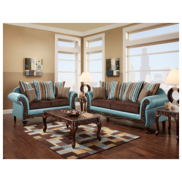 Fitzgerald Furniture CL RIO BLUE S/L