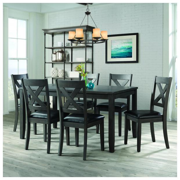 Fitzgerald Furniture ALEX ESPRESSO DINING