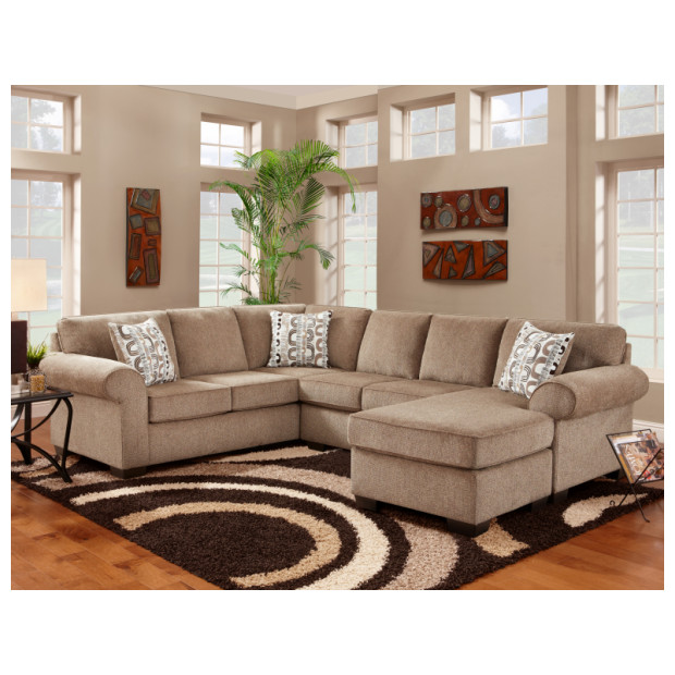 Affordable Furniture A3051/3052 COCOA