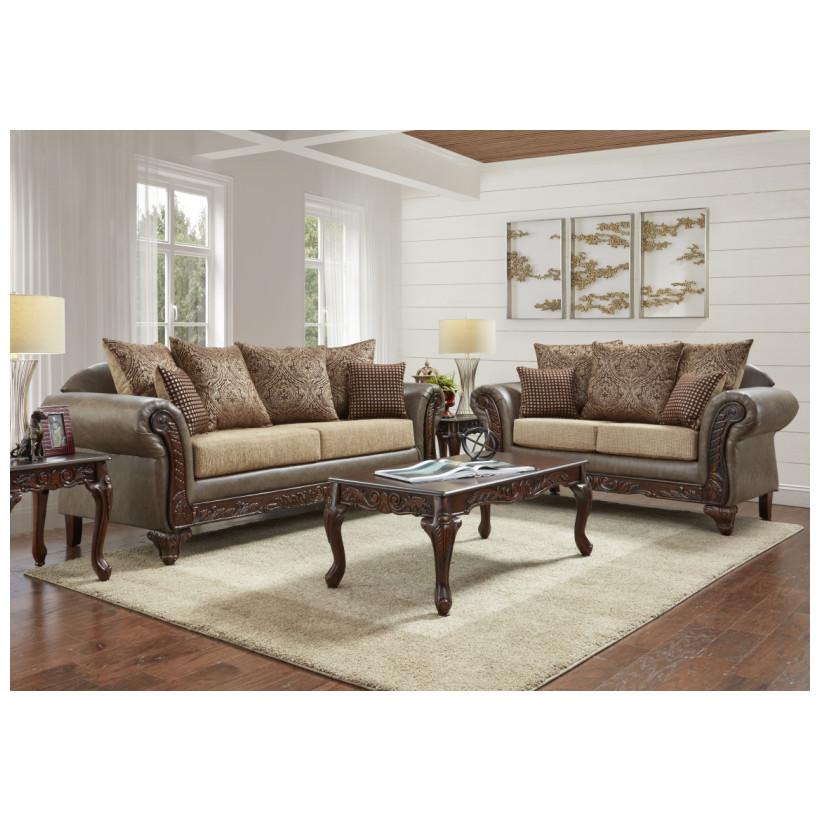 Fitzgerald Furniture SEDONA CHOCOLATE S/L
