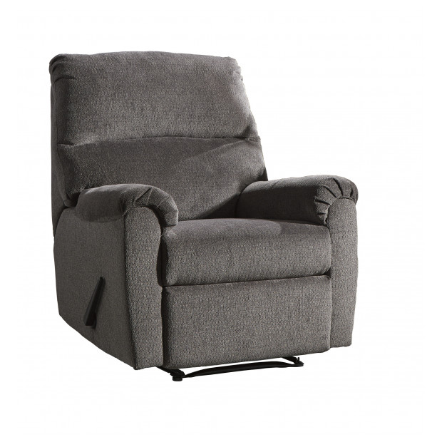 Fitzgerald Furniture CL NERVIANO GRAY RECLINER