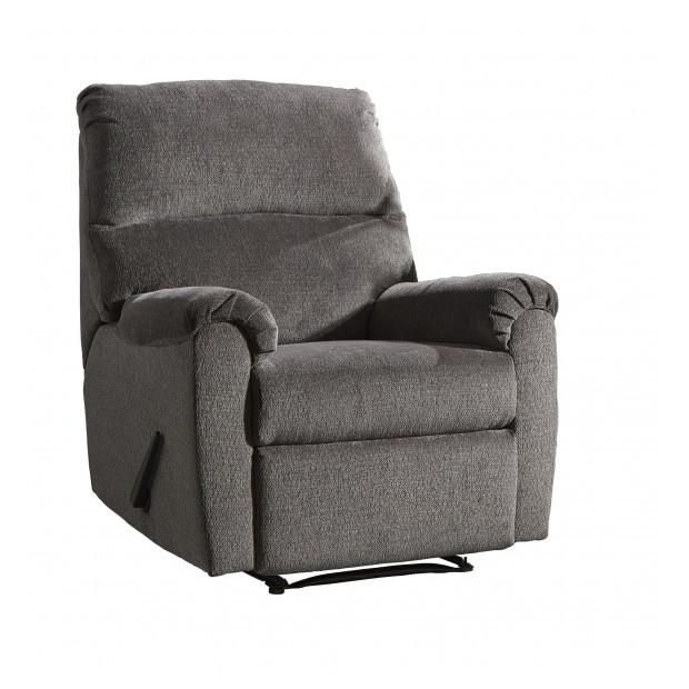 Fitzgerald Furniture NERVIANO GRAY RECLINER