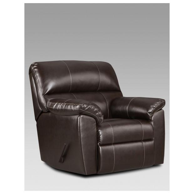 Fitzgerald Furniture AUSTIN CHOCOLATE RECLINER