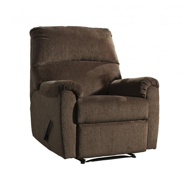 Fitzgerald Furniture NERVIANO CHOCOLATE RECLINER