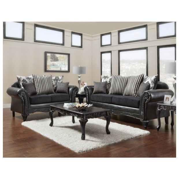 Fitzgerald Furniture SINBAD BLACK S/L