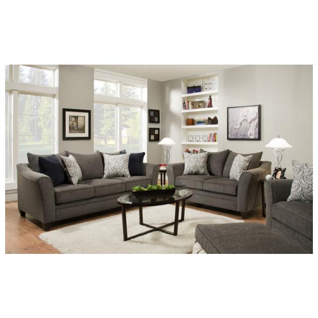 Lane Home Furnishings  6485-02/03 ALBANY PEWTER