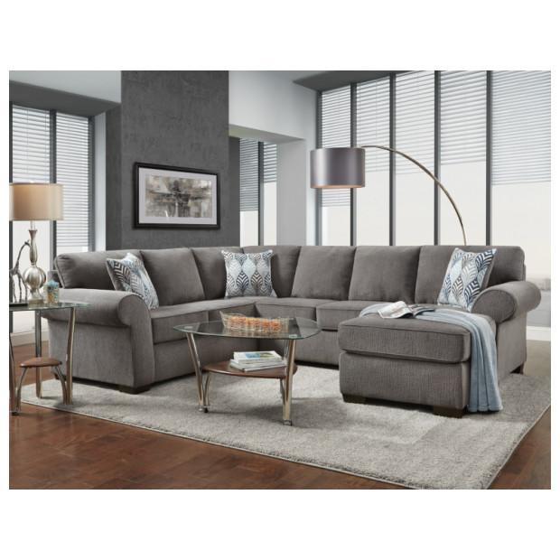 Fitzgerald Furniture CHARISMA SMOKE 2PC