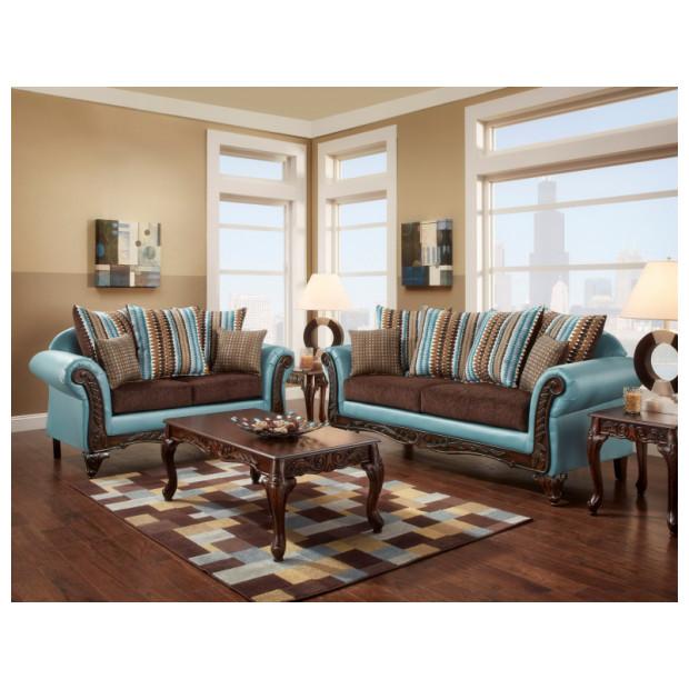 Fitzgerald Furniture CL RIO BLUE S/L