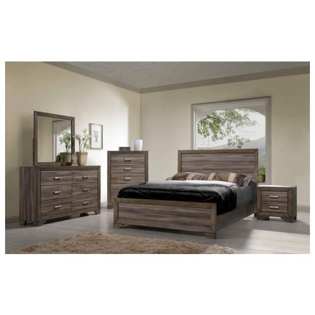 Bernard's Furniture   1650 QBDMN 4PC