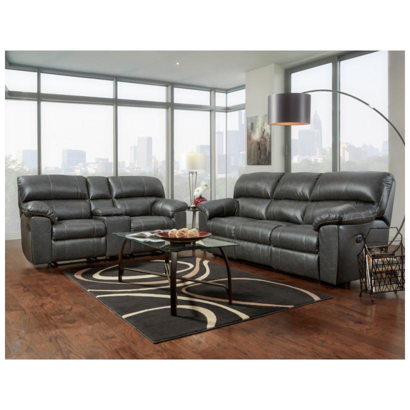 Fitzgerald Furniture CL STALLION CHARCOAL S/L