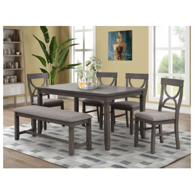 Fitzgerald Furniture WACO DINING 6PC