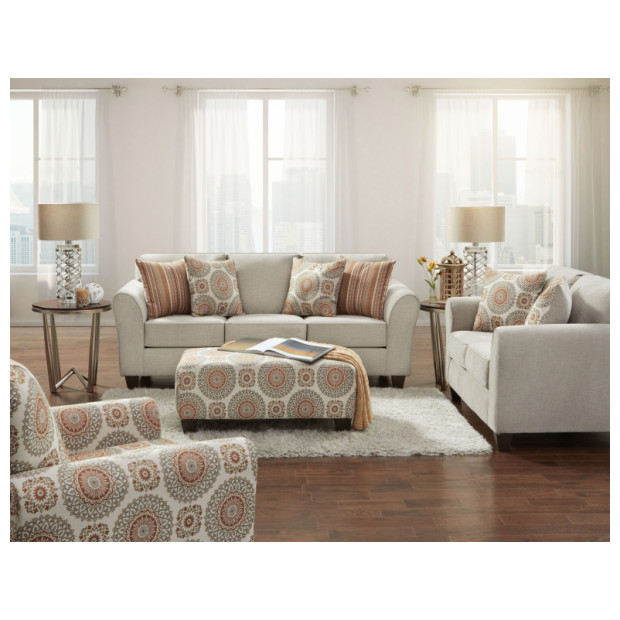 Fitzgerald Furniture CL BENNINGTON TAUPE S/L