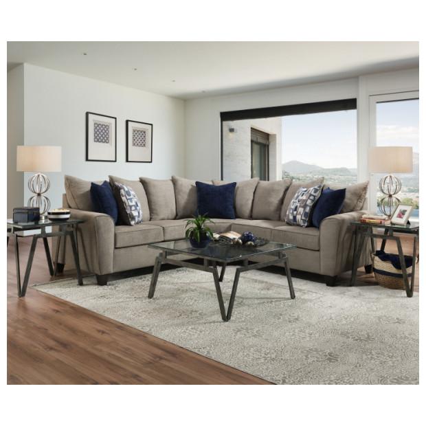 Lane Home Furnishings  9096-55/57 ALAMO GREY