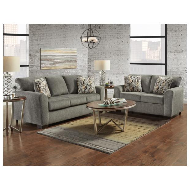 Fitzgerald Furniture CL ALLURE GRAY S/L