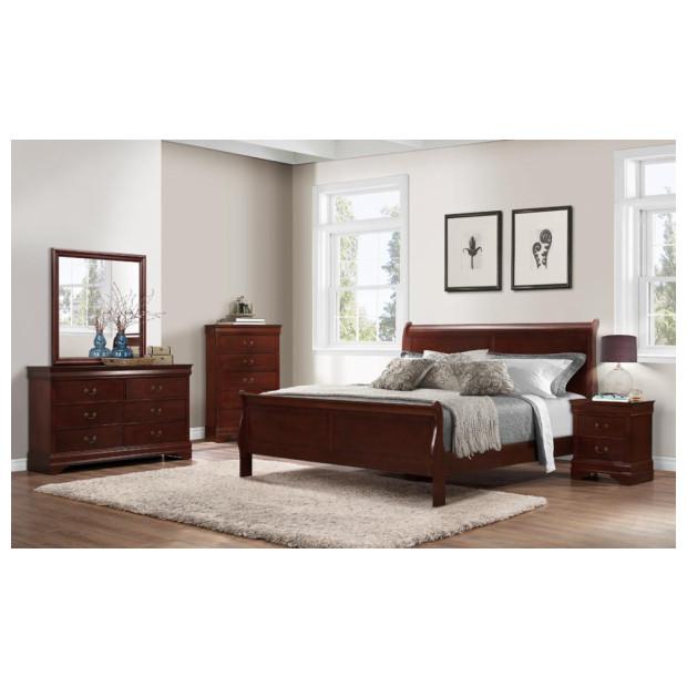 Bernard's Furniture   BER-1230QBDMN CH