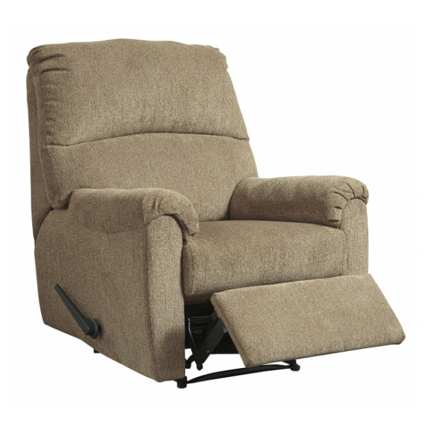 Fitzgerald Furniture NERVIANO MOCHA RECLINER